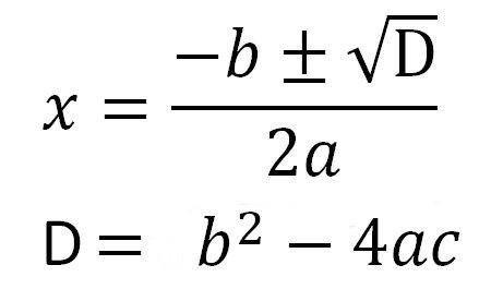 Vzorec pro výpočet m3